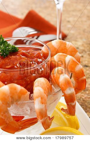 Delicious Shrimp Cocktail