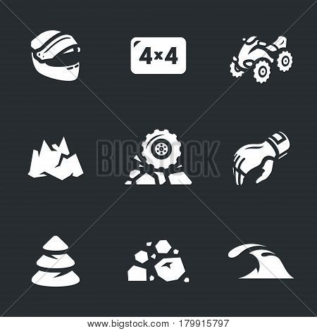 Helmet, four-wheel drive, transport, mountain, wheel, hand, forest, off-road, water.