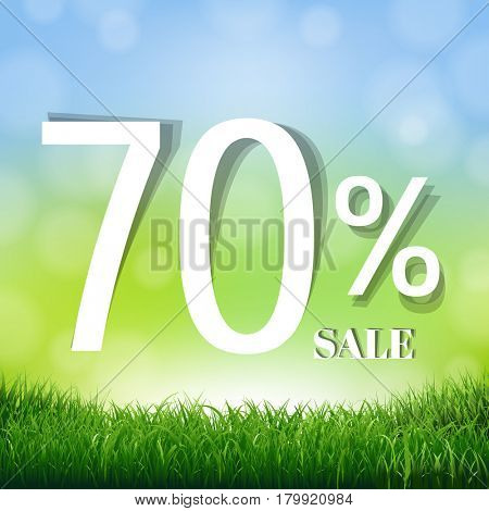 70% Sale Poster