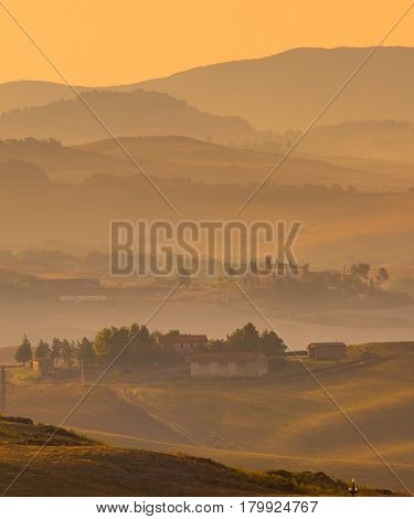 Tuscan Countryside Villas And Villages