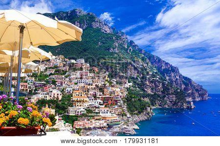 Luxury Italian holidays - beautiful Amalfi coast, Positano
