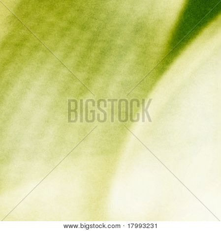 Artistic Abstract Green Structure