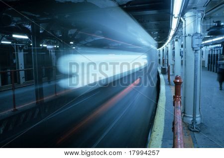 Moving New York Subway