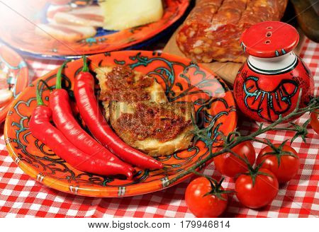 The South Italy, Calabria, Locale  Food
