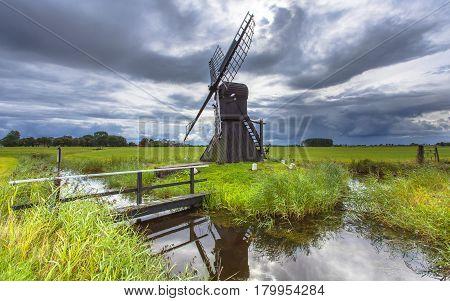 Historic Dutch Windmill