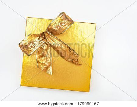 Gold Box & Bow