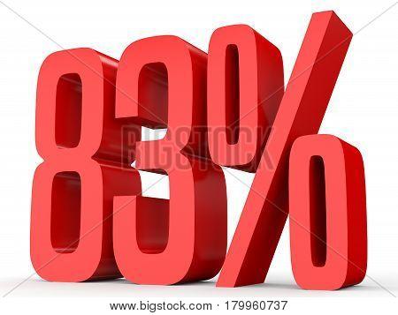 Eighty Three Percent Off. Discount 83 %.