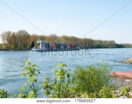 Barge For Container Transport