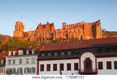 Schloss Oberhalb Der Altstadt