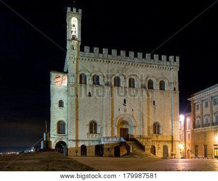 Evening Pictures Of Gubbio