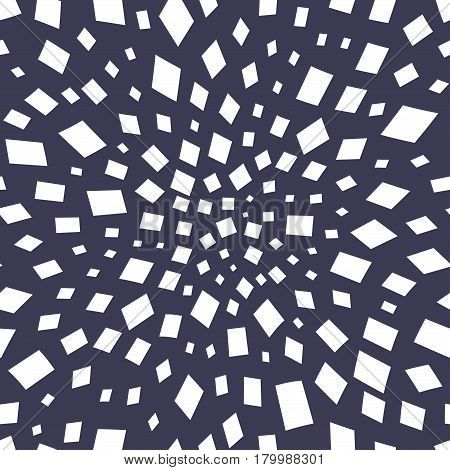 Minimal Graphic Geometric Vortex Seamless Memphis Pattern