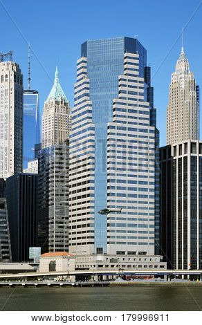 Buildings of Lower Manhattan - One Financial Square.
