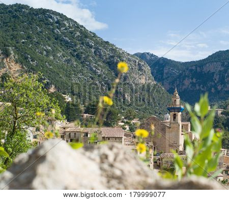 Parish of Saint Bartholomew in Valldemossa on Mallorca island