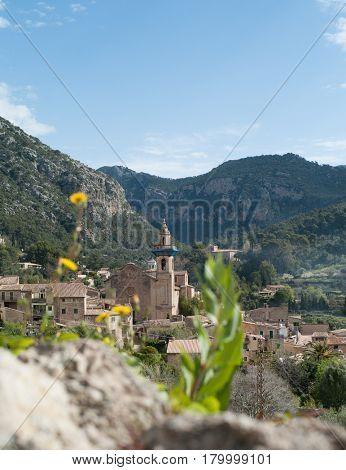 Parish of Saint Bartholomew in Valldemossa on Mallorca island