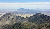 A View of San Jose Peak Mexico from the Crest Trail in the Huachuca Mountains Arizona poster