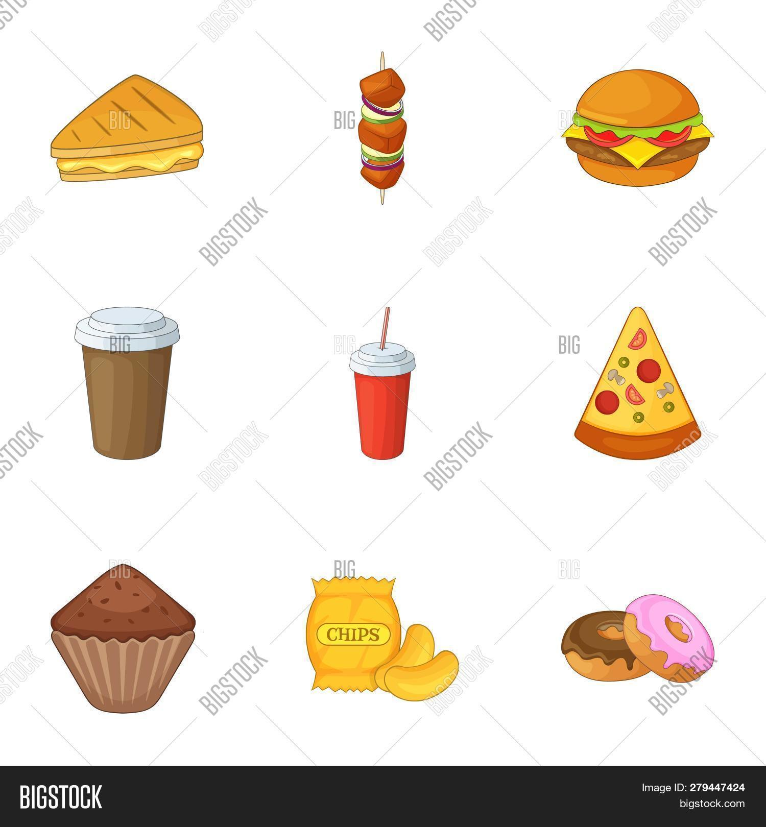 Harmful Fast Food Image Photo Free Trial Bigstock