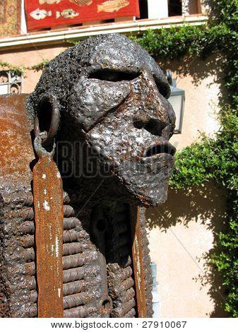 Aboriginal Statue