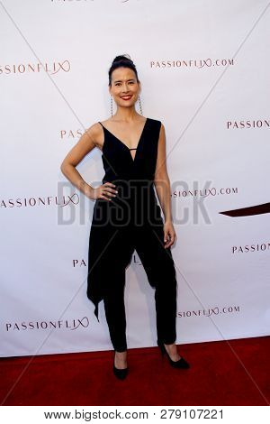 Shi Ne Nielson attends the premiere for