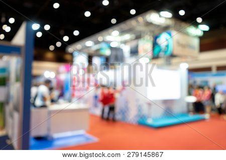 Blur Tour Travel Expo Exhibition For Business Trade Fair