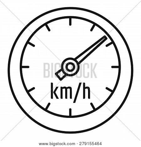 Car Speedometer Icon Vector & Photo (Free Trial)   Bigstock