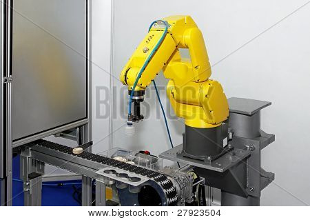 Robot At Line