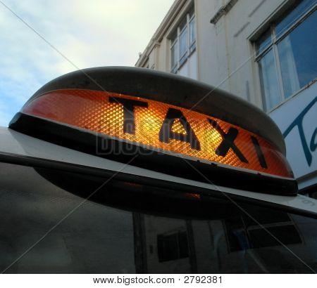 Illuminated Taxi Sign