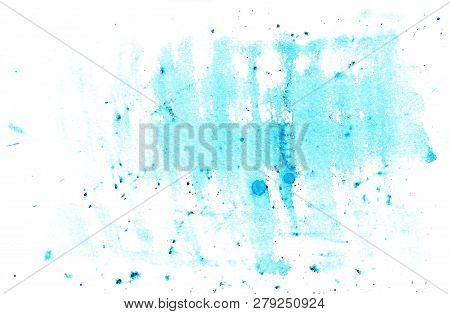 Abstract Background With Blue Spots And Spray