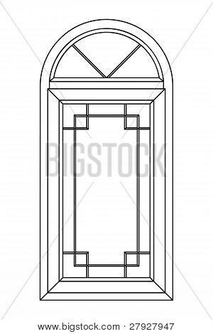 Planimetric Arch Window 2
