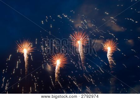 Moscow'S Fireworks Festival 2007