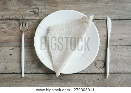 Empty Table Setting
