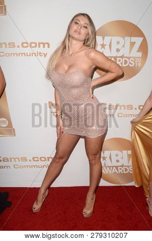 LOS ANGELES - JAN 17:  Natalia Starr at the 2019 XBIZ Awards at the Westin Bonaventure Hotel on January 17, 2019 in Los Angeles, CA