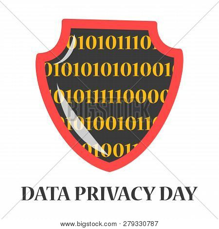 Data Privacy Day Global Holiday. Digital Information