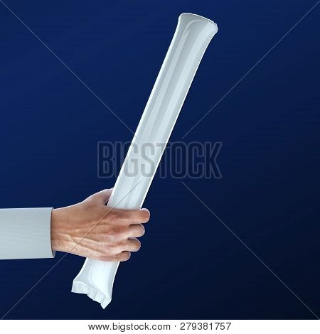 Hand Holding Stadium Noisemakers Crowd Loud Inflatable Thunder Stick Bang Cheer Fan Noise Maker Bask