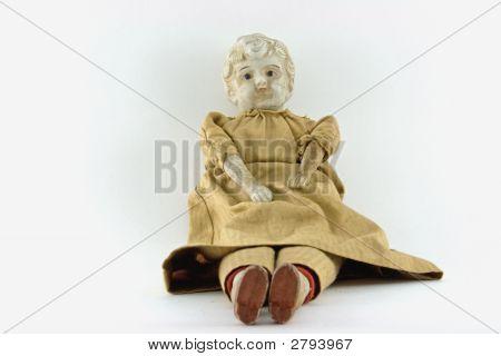 Antique Porcelain Doll