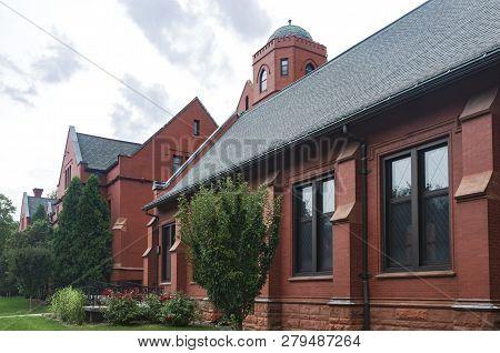 Milwaukee, Wi/usa -september 2, 2018: greene Hall And Merrill Hall Formerly Milwaukee-downer Colleg