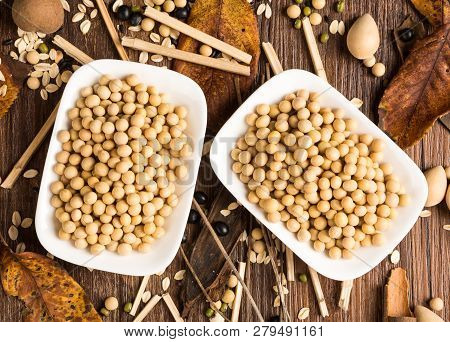 Image Of Soybean Soya Bean Soy Soya  Soybeans