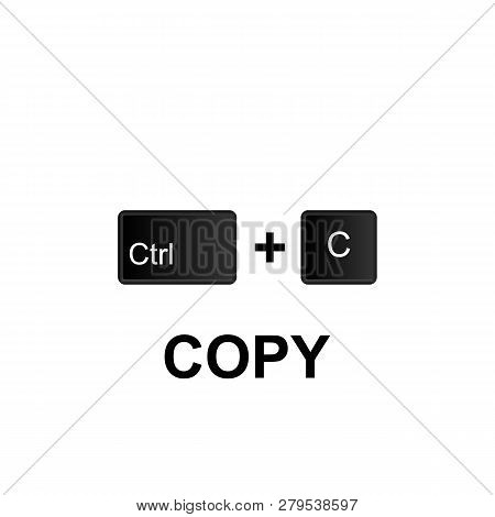 Keyboard Shortcuts, Copy Icon. Can Be Used For Web, Logo, Mobile App, Ui, Ux