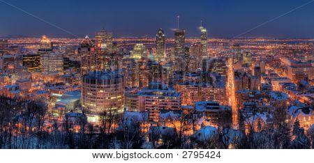 Montreal in der Nacht