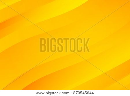 Abstract Yellow Background With Waves. Abstract Yellow Background With Waves.