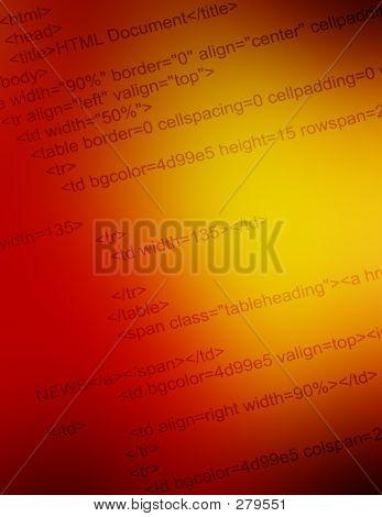 html code closeup poster