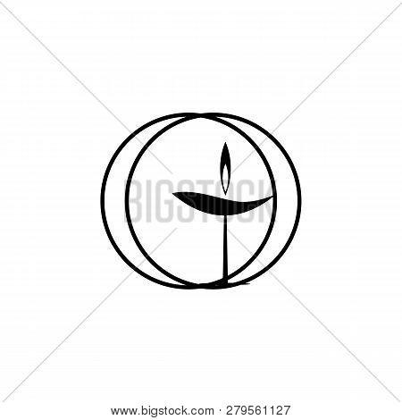 Religion Symbol, Unitarian, Universalism Icon. Element Of Religion Symbol Illustration. Signs And Sy