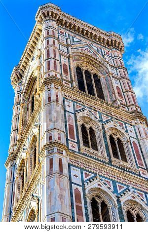 Giotto's Campanile Bell Tower Duomo Cathedral Florence Italy