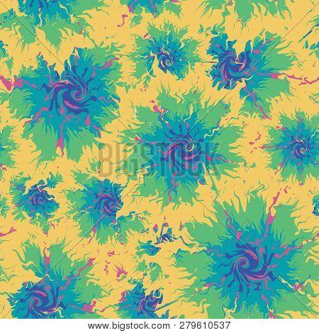 d55056c2260b Tie Dye Seamless. Seamless Repeating Tie Dye Background - Vector