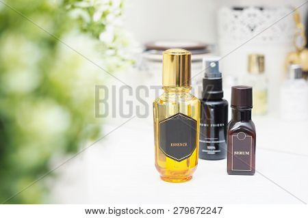 Natural Cosmetic Products For Skincare And Body