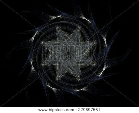 Abstract Fractal Wreckage Digital Artwork For Creative Graphic Design
