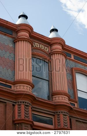 Columns Of Building From Late 1800'S