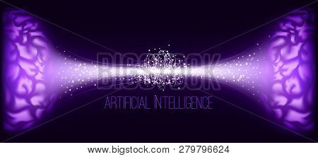 Ai, Cyber Mind And Digital Technology. Big Data Analysis, Machine Learning And Artificial Intelligen