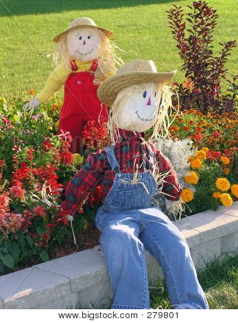 Garden Scarecrows