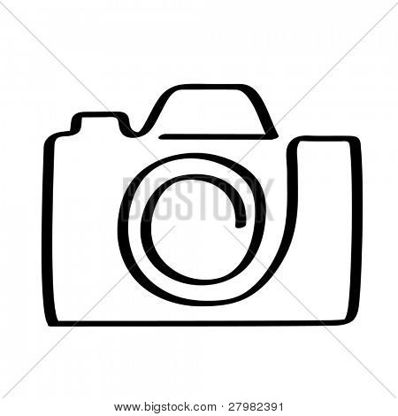 vector icon of camera
