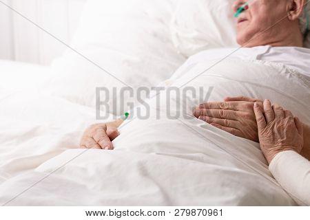 Senior Man Terminal Image & Photo (Free Trial) | Bigstock